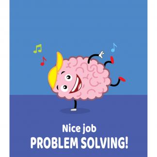 Growth Mindset Poster - Nice Job Problem Solving