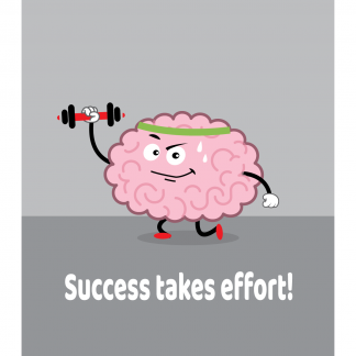 Growth Mindset Poster - Success Takes Effort
