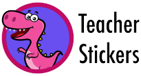 Teacher Stickers Logo